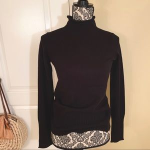 NWT French Connection black turtleneck XS